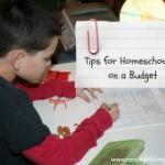 Homeschooling on a Budget