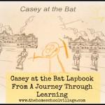 Casey at the Bat Lapbook from A Journey Through Learning