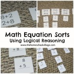 Math Equation Sorts: Using Logical Reasoning