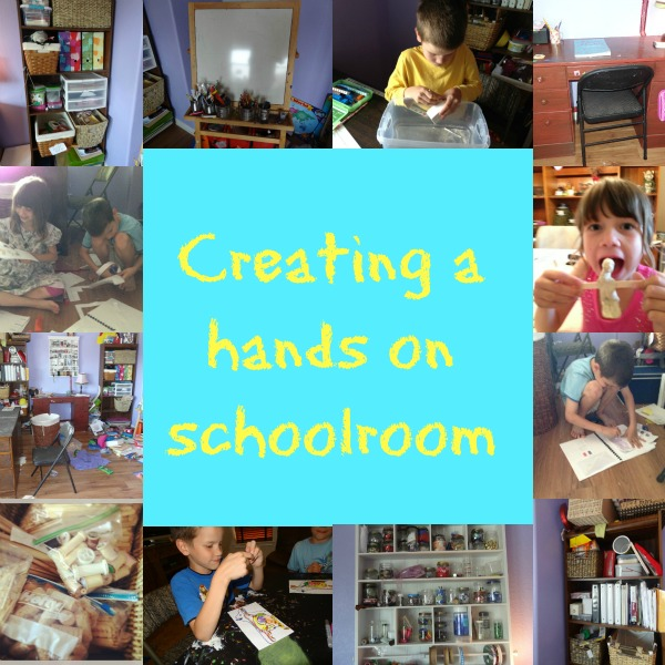 creating a hands on school room