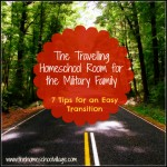 The Travelling Homeschool Room for the Military Family