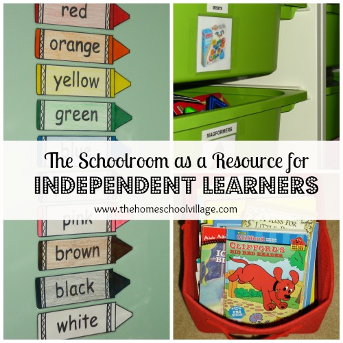 photo of The Schoolroom as a Resource for Independent Learners | The Homeschool Village