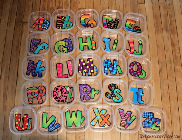 Organizing Preschool Letter of the Week Activities