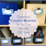 Organizing Creative Materials So You Can Actually USE Them