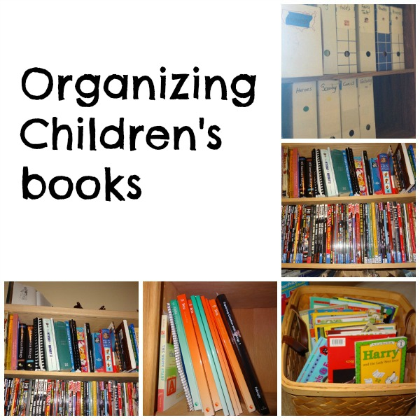 organizing childrens books