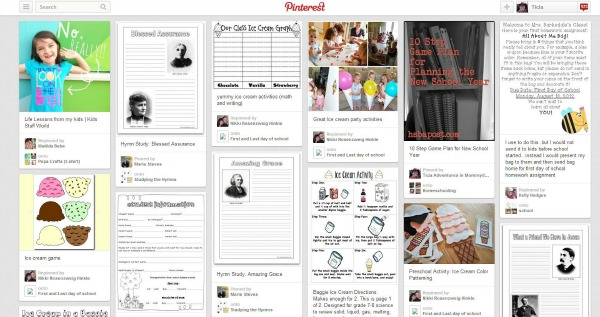 who are you following on pinterest