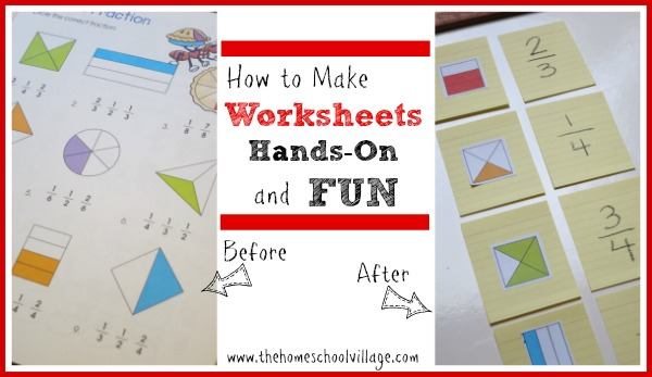 How to Make Worksheets HandsOn and Fun – How to Make Worksheets