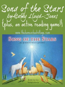 Song of the Stars by Sally Lloyd-Jones {plus, an active reading game!} - TheHomeschoolVillage.com