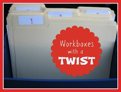 Workboxes with a Twist...you'll love these fun ideas for workboxes!