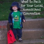 Packing for a Homeschool Convention