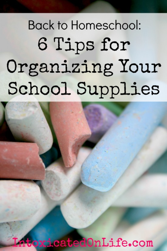 Winter Blahs? Getting organized will help. Love these simple tips.