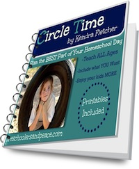 Circle Time Organized. Ideas, encouragement and printables!