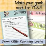 Goal setting with the kids…FREE printable!