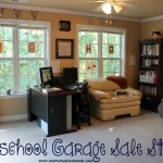 Homeschool Classroom on a Garage Sale Budget
