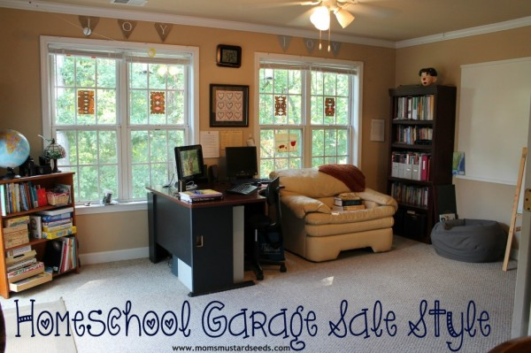 Homeschool Classroom on a Garage sale Budget...yes, you can!