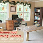 Homeschool Room: Learning Centers