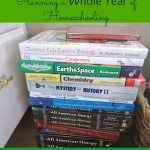 Planning your WHOLE Homeschool Year