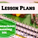Homeschool Lesson Planning: the Basics