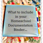 Organizing Your Homeschool Documentation Binder