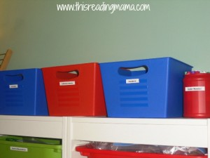 Organizing your home to teach writing. Excellent ideas!