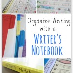 Organizing a Writer's Notebook