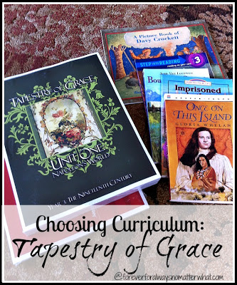 Choosing Curriculum for the classical family. Tapestry of Grace.