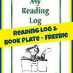 FREEbie: Reading Log and Book Plates!