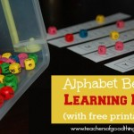 Fun Alphabet Resources with Printables