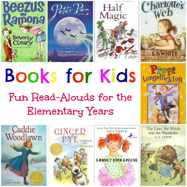 Favorite Read Alouds For Elementary School The Homeschool Village
