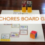 Chores Board Game {DIY}
