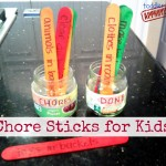 Chore Sticks for Toddlers