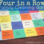 Make Chores a Game: Four in a Row