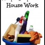 Keeping Up With Housework When You Homeschool