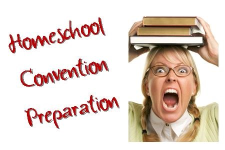 Printables to Help you prepare for a homeschool convention