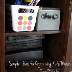 Organizing Your Kids' Music