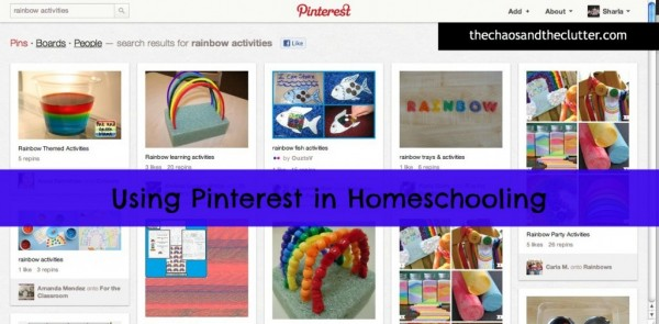 Organize your homeschool with Pinterest. Step by step suggestions and ideas.