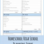 Mapping out a homeschool high school plan