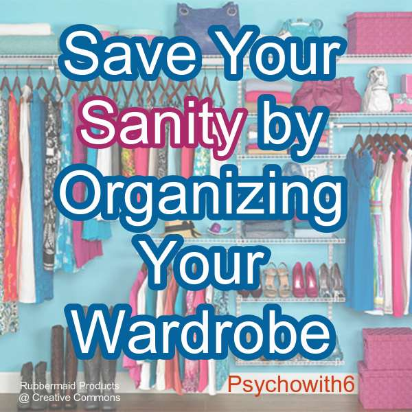 While you are switching out your winter gear for spring clothes take a few extra minutes to really organize your wardrobe
