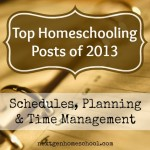 Schedules, Planning and Time Management