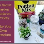 FREE Printable: The Secret Garden – Make Your Own Terrarium