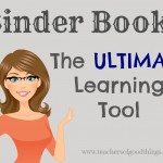 Organize your Lapbooks with Binder Books