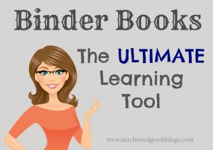 Binder Books: A great way to organize your lapbooks