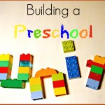 Building unit studies for preschoolers
