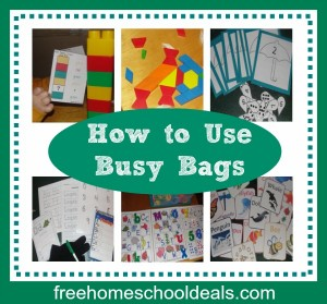 Have little ones? Busy bags are a great way to keep them busy while you teach the older children. This post has great ideas for how to keep them organized and how to actually use them.