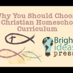 Looking for curriculum? Here is a great hangout that addresses some questions about why you should use a Christian homeschool curriculum and how.