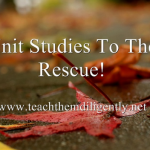 Teach multiple children the same subject with unit studies