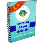 Animal Study Lesson Plans for K-3