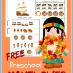 FREE Preschool Mayflower Printable Set