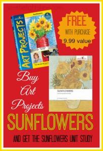 Free Sunflower Unit Study