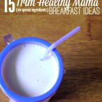 Printable breakfast list for Trim Healthy Mama's